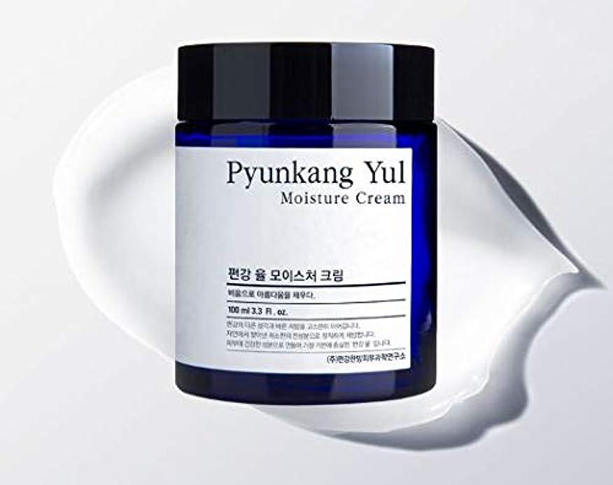 薄める切り離す薄いです[Pyunkang Yul] Moisture Cream 100ml /モイスチャークリーム 100ml [並行輸入品]
