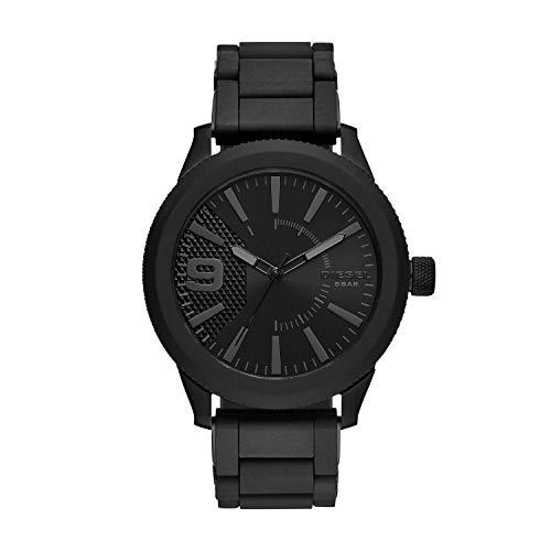 Diesel Herren-Uhren Analog Quarz One Size Edelstahl 87550362