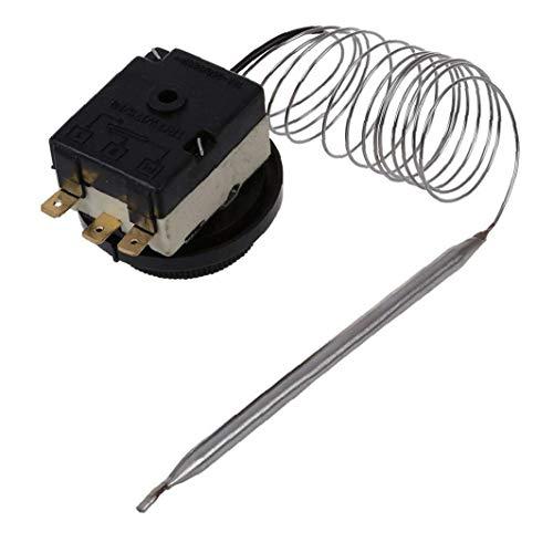 Interruptor de control de 250V / 380V 16A 0-40C Estable Temperatura del termostato capilar Accesorios Industriales