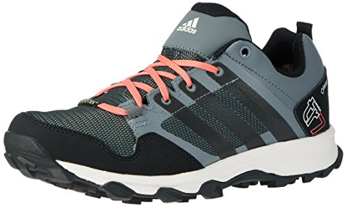 adidas Kanadia 7 TR GTX W, Zapatillas de Running para Asfalto Mujer, Gris (Vista Grey S5/Core Black/Super Blush), 36 2/3 EU