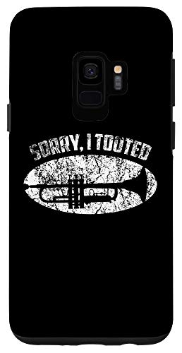 Galaxy S9 Sorry I Tooted Trumpet Player - Jazz Music Gift Tee Case