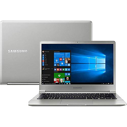 "Notebook Samsung Style S50, Intel Core i7 7500U, 8GB RAM, SSD 256GB, SSD 256GB, tela 13,3"", Windows 10, NP900X3J-KW1BR"