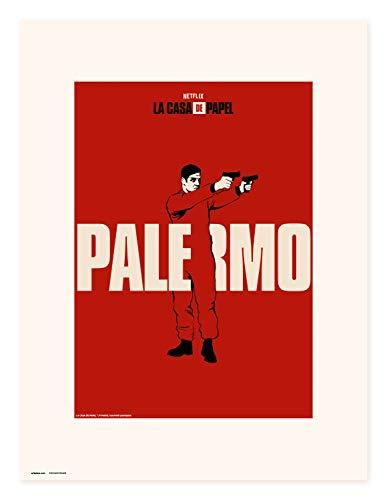 Erik Art Print | Impresin, La Casa de Papel Netflix, Palermo, 30 x 40 cm