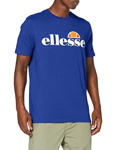 Ellesse Camiseta Prado Hombre, Hombre, Camiseta, SHG07405, Azul, M