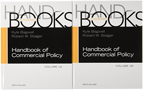Compare Textbook Prices for Handbook of Commercial Policy Volume 1A-1B SET 1 Edition ISBN 9780444639219 by Bagwell, Kyle,Staiger, Robert W.