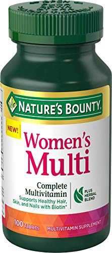 Nature's Bounty Complete Women's Multivitamin, 100 Tablets
