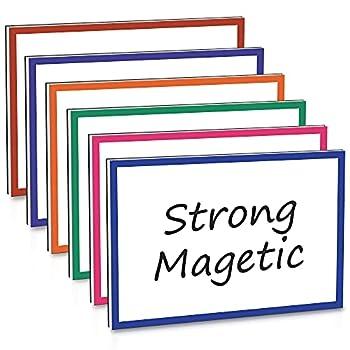 dry erase magnetic labels