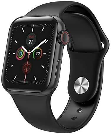 Gymqian Unisex de Smart Watch Apoya la Temperatura de la Pantalla Táctil de Medición Smartwatch Ip67 a Prueba de Agua Reloj de la Aptitud Tracker con Ritmo Cardíaco/Reposo Monitor de Gps