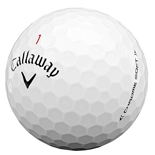 2020 Callaway Chrome Soft Golf Balls (White)