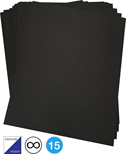 Excelsis Design, Pack of 15, Foam Boards (Acid-Free), 16x20 Inches (Many, 3/16 Inch Thick Mat, White with White Core (Foam Core Backing Boards, Double-Sided Sheet)