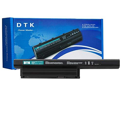 DTK VGP-BPS26A VGP-BPS26 VGP-BPL26 Batteria per Portatile Sony Vaio PCG-61 PCG-61713M PCG-61714M PCG-91 PCG-91211M (6 Pile 5200mAh 10.8V Nero)