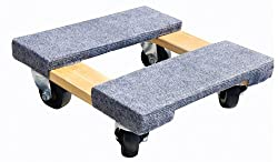 Milwaukee Hand Trucks 33815 Gleason Carpeted End Furniture Dolly - Best Piano Dollies & Trolleys