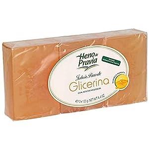 HENO DE PRAVIA jabón de manos glicerina pura pack 3 x 125 gr