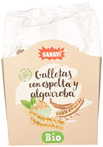 Sanavi Galleta Espelta Y Algarroba 200 G 200 G 100 g