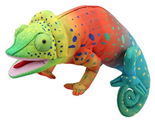 The Puppet Company PC009701, Marioneta de mano de camaleón