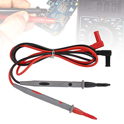 Sonda Cables de prueba, cables de prueba, anticongelante Accesorios para multímetro Multímetro Voltímetro Pinza amperimétrica para pruebas electrónicas Multímetro digital