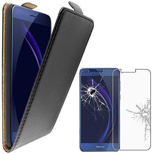 ebestStar - Funda Compatible con Huawei Honor 8 Carcasa Abatible PU Cuero,...