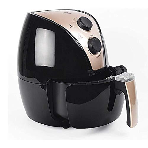 SHICCF Freidora de Aire for Saludable Baja en Grasa Cocinar, Control y Temporizador de Temperatura Ajustable con 4-Quart de cerámica Recubierto Cesta