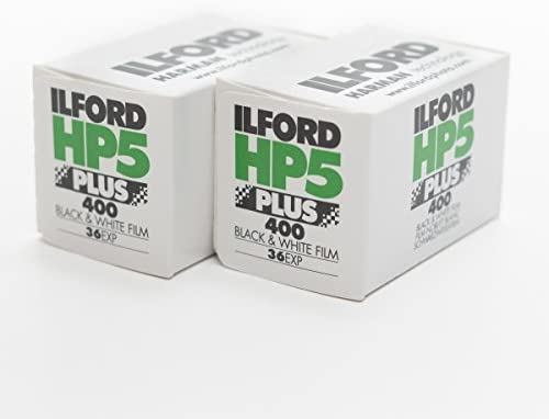 Ilford 1574577 HP5 Plus Black and White Print Film 35 mm ISO 400 36 Exposures Pack of 2 product image