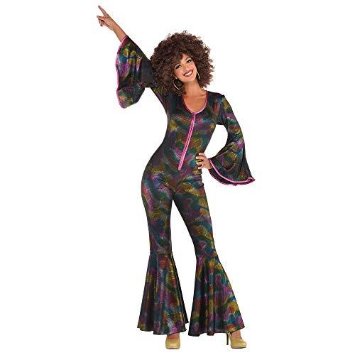 amscan 843060 Disco Bodysuit, Adult Standard Size, 1 Piece