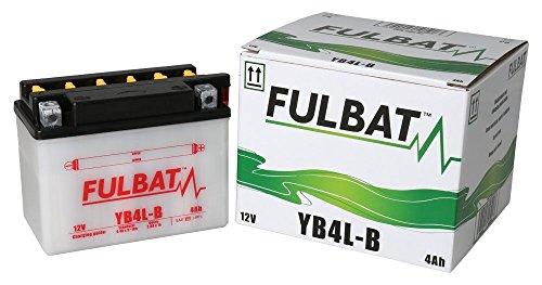 Batterie FULBAT YB4L-B 12V 4Ah 56A Longueur: 120 x Largeur: 70 x Hauteur: 92 (mm)