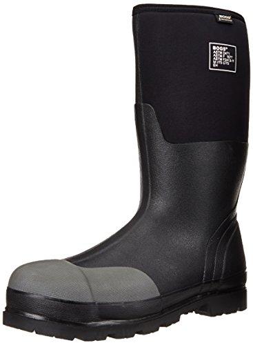 BOGS - 69172-001 11 Bogs Men's Forge Tall Industrial Steel Toe Work Rain Boot, Black, 11 D(M) US
