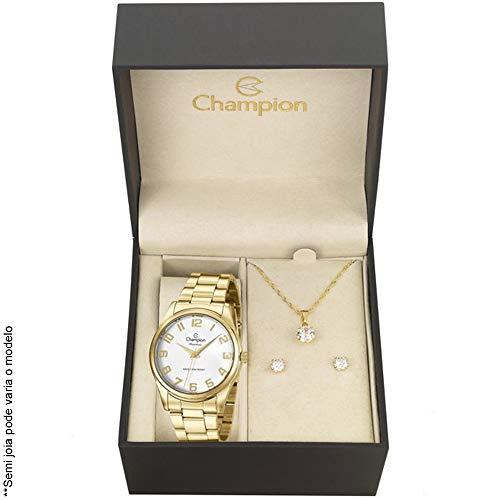 Relógio Champion Analógico Feminino CN29883J + Semijóia