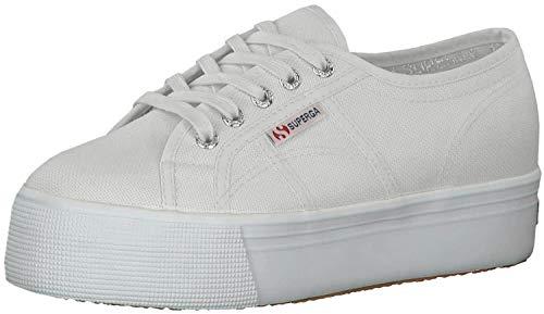 Superga 2790 Linea Updown Flatform Damen Sneaker,Grau (grey seashell) ,37 EU