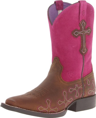 ARIAT Kid's Pace Setter Western Boot Brown