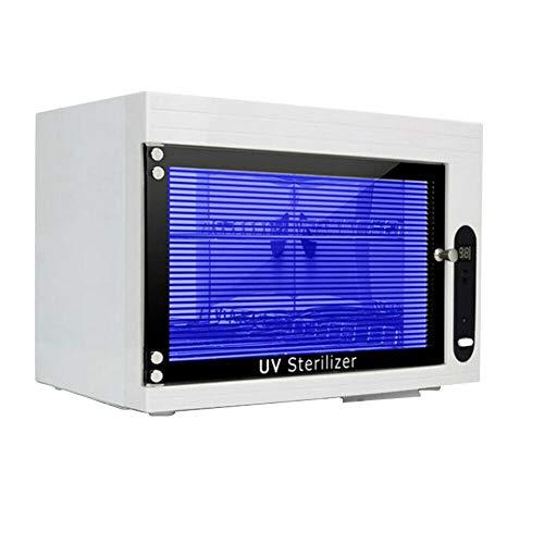 WUPYI2018 UV Sterilisator, LED UV Steriliser Desinfektionsschrank, Hocheffiziente Sterilisation,für Maniküre-Tools, Pinzetten und Handtücher