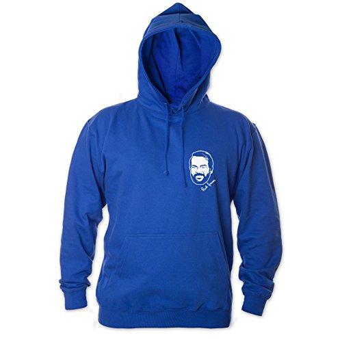 Bud Spencer Herren Bulldozer 63 Hoodie (blau) (XXL)