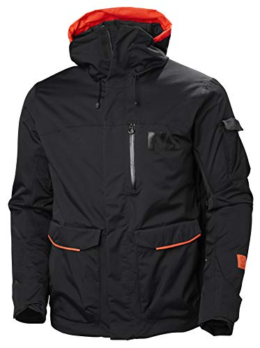 Helly Hansen 65614 Men's Fernie 2.0 Jacket, Black - XL