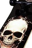 Zoom IMG-1 skatemax skateboard senior lightning skull