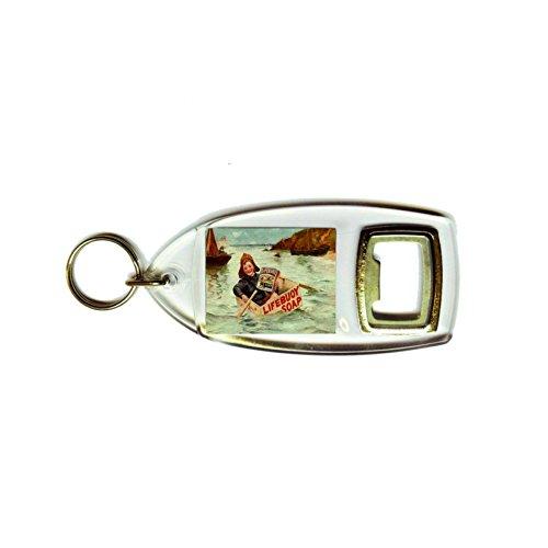 Boy Seemann Rettungsring Seife Retro Shabby Chic Vintage Stil Acryl Schlüsselanhänger und Flaschenöffner
