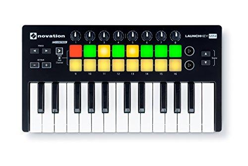 Novation Launchkey Mini 25-Tasten-USB-Keyboard-Controller für Ableton Live, MK2 Version