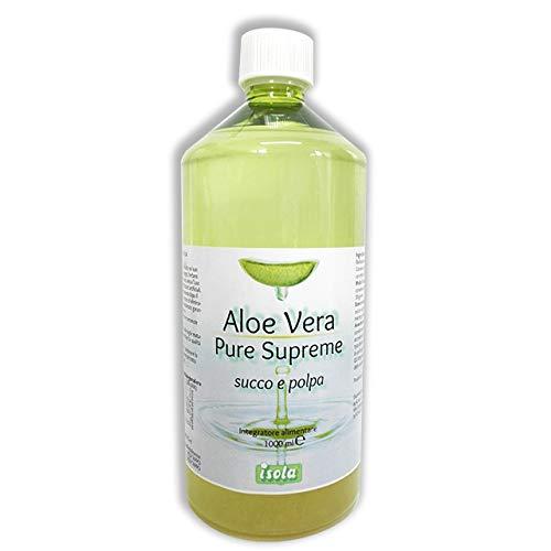 Aloe Vera pura succo e polpa - senza aloina - 1000ml