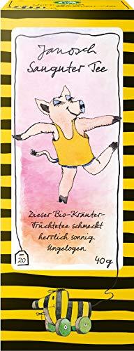 レーベンスバウム Lebensbaum ハーブティー オーガニック ティーバッグ ノンカフェイン ブレンド ヤノッシュ ぶたさんの オレンジ&ライムティー 2g×20P