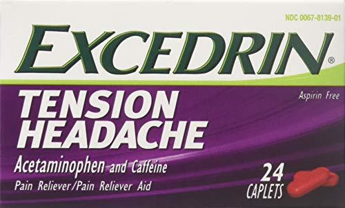 Excedrin Tension Headache Caplets 24 ea (Pack of 2)
