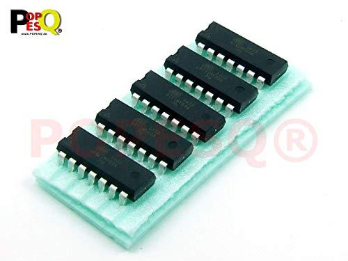POPESQ® 5 STK. / pcs. x ATTINY 84A-PU MCU ATMEL AVR Arduino kompatibel/Compatible #A345