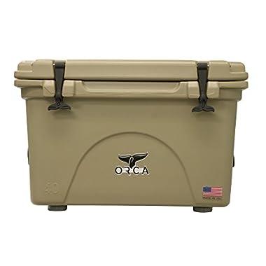 ORCA TP0400RCORCA Cooler, Tan, 40-Quart