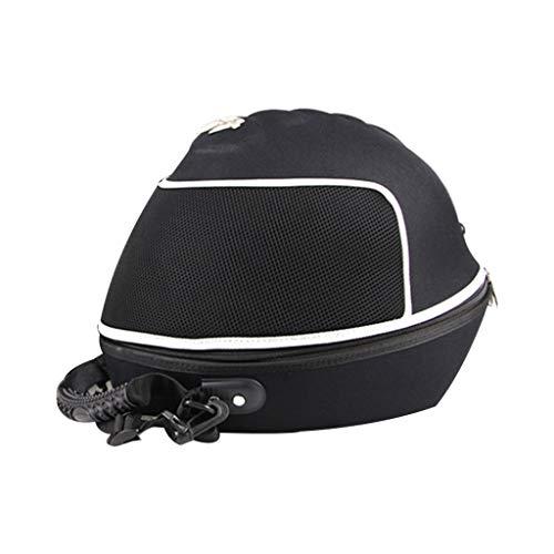 N/A. Bolsa portátil para casco de motocicleta, tamaño pequeño, 35 x 27 x 9 cm, bolsa de almacenamiento impermeable