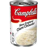 Campbell'sCondensed New England Clam Chowder, 10.5 Ounce (Pack of 12) (Packaging May Vary)