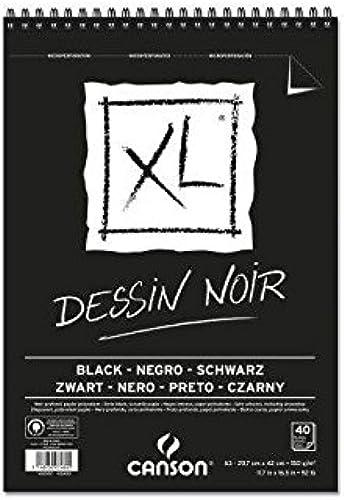 minorista de fitness Canson Juego de 5bblocs 40hojas bocetos XL XL XL negro, aleación pequeño parte A3150g negro  Venta en línea de descuento de fábrica