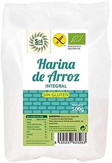 Harina de arroz integral sin gluten Bio 500 g Sol Natural