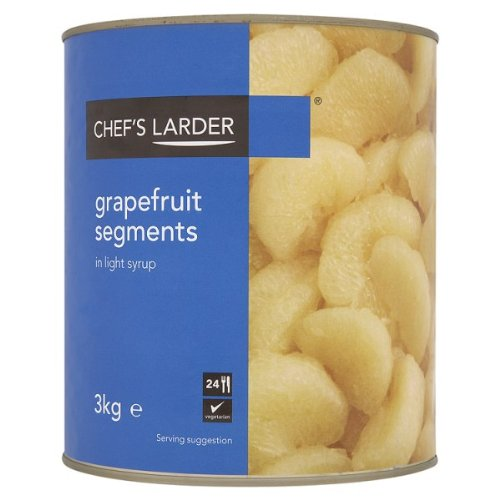 Koch Larder Grapefruit Segmente in Light Syrup 3kg