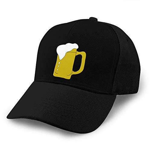Jarra de cerveza Sombreros unisex para adultos Gorras de béisbol clásicas Gorra con...