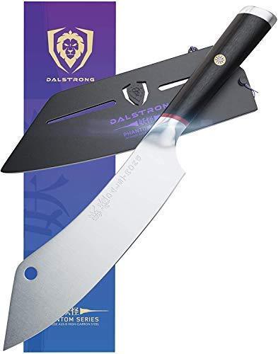 Dalstrong Erstklassiges Kochmesser nach Kanadischem Premium Design - 20 cm - The Crixus - Phantom Series - aus Japanischem High-Carbon AUS8 Stahl
