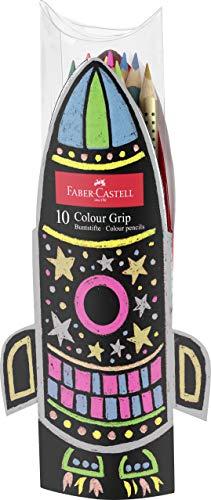 Faber-Castell 201643 - Geschenkset Colour Grip Buntstifte