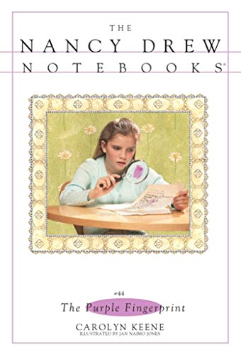 The Purple Fingerprint (Nancy Drew Notebooks Book 44) (English Edition)