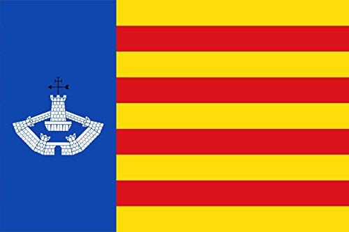 magFlags Bandera Large Menorca preautonòmica | Bandera Paisaje | 1.35m² | 90x150cm